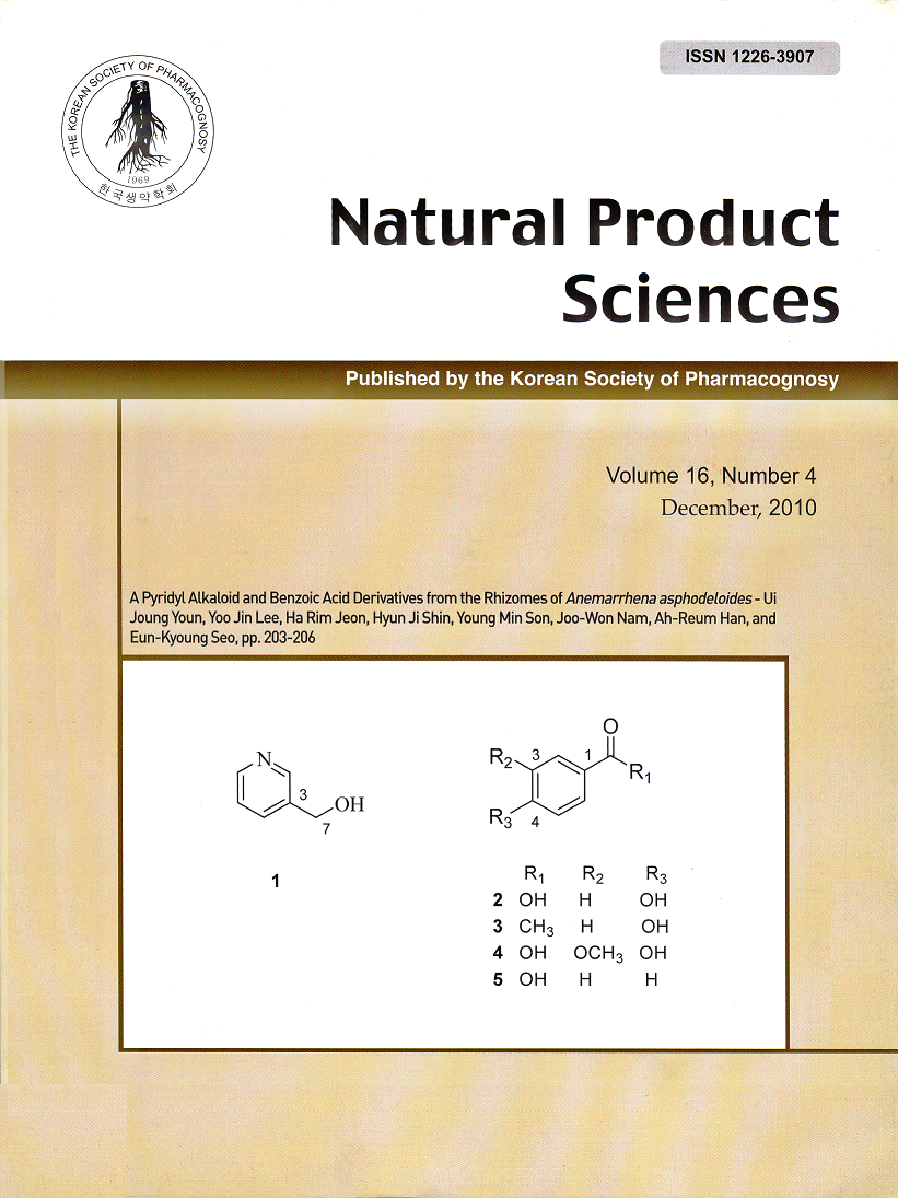 International Journal Of Natural Product Chemistry